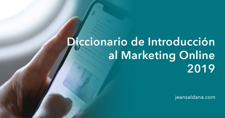 diccionario marketing digital 2019